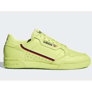 Authentic Adidas Continental 80 Frozen Yellow