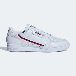Authentic Adidas Continental 80 Blue