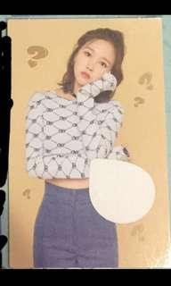[cheap wts] twice mina what is love scratch card