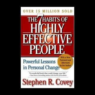 7 Habits of Highly Effective People, Powerful Lessons in Persona Change - Stephen R. Covey