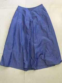 🚚 NEW YORKER 日製丹寧色寬褲裙