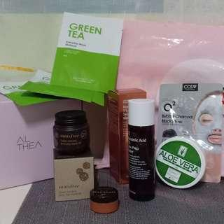 SKIN CARE PRODUCTS (ALTHEA/BEAUTY MNL)