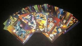 242pcs Vintage Marvel Xmen Cards Collection
