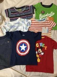 9-12months shirt bundle