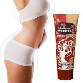 Taiwan Coffee Body Cellulite Slimming Cream Fat Burning Weight Loss