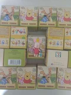 Winnie the Pooh wooden figurine blind box