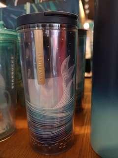 星巴克限量版海洋系隨手杯(無吸管)