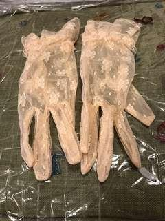 結婚婚禮喱士手襪