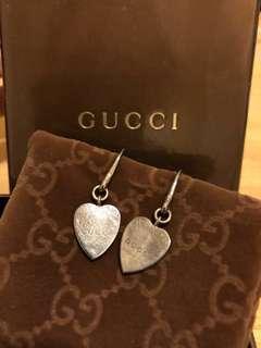 Love shape Gucci earrings