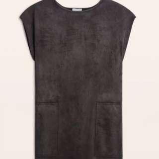 Aritzia Nori Suede Dress XXS