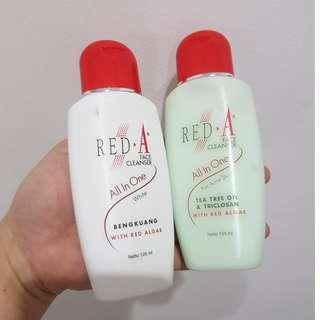 RED-A Face Cleanser / Pembersih Muka / Wajah All In One REDa