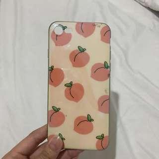 Iphone 7 peach case
