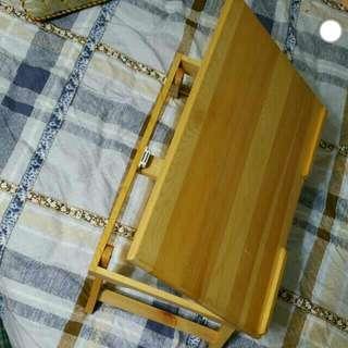 床/沙發上的電腦/閱讀摺枱-純木