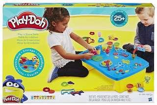 Play Doh Play n Store Table