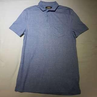 *PRICE REDUCED* Blue Topman Polo Tee