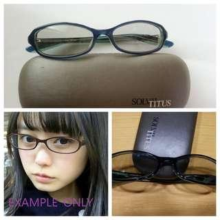Solvil Titus 眼鏡 sunglasses 眼鏡框