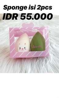 Sponge beauty blender isi 2pcs