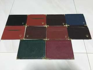 (FULL SET) Rolex Card Holders with Gold Edges