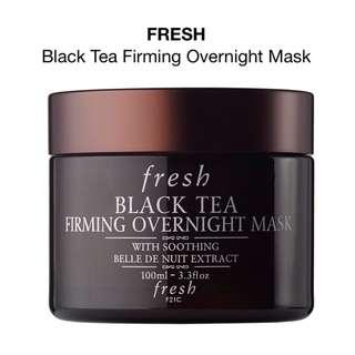 🚚 RTP$144 BNIB AUTHENTIC Fresh Black Tea Firming Overnight Mask 100ml