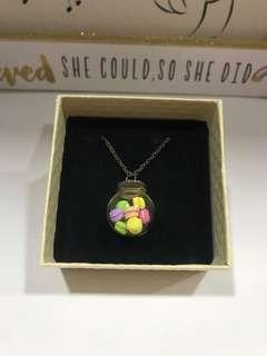 3D Macaroon Necklace