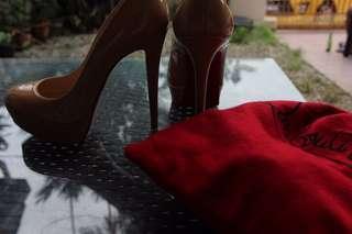 Christian Louboutins Nude Heels