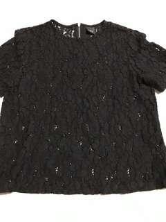 Iora Black Lace top