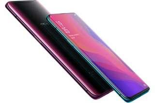 OPPO find X Blue or Red