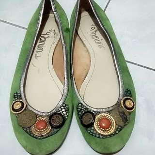 Vanina Suede Doll Shoes