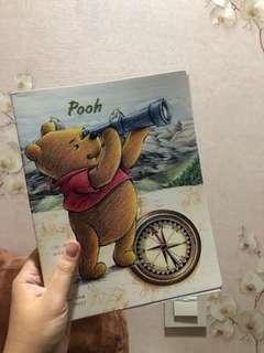 Notebook winnie the pooh