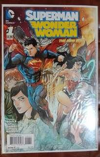 Superman Wonder Woman #1 comics