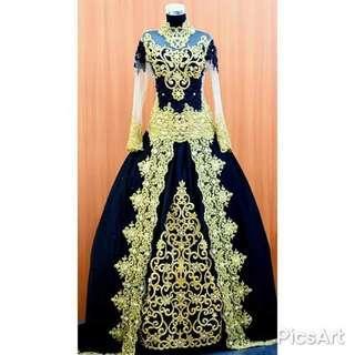 Baju pengantin atau kebaya