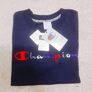 ✧Instock✧AUTHENTIC✧Champion T-shirt✧Navy Blue✧