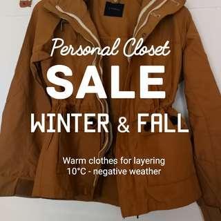 Winter and Fall  season Clothes