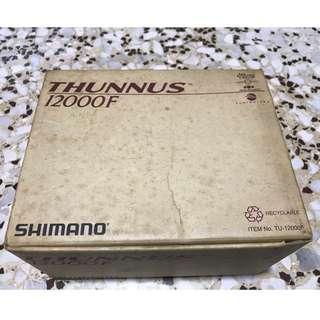 Shimano Thunnus 12000F spinning reels