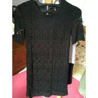 #MauIphoneX Divided h&m dress black
