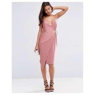 *SALE* ASOS Wrap Midi Dress Size 8AU