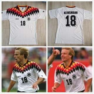 Germany 1992 home jersey