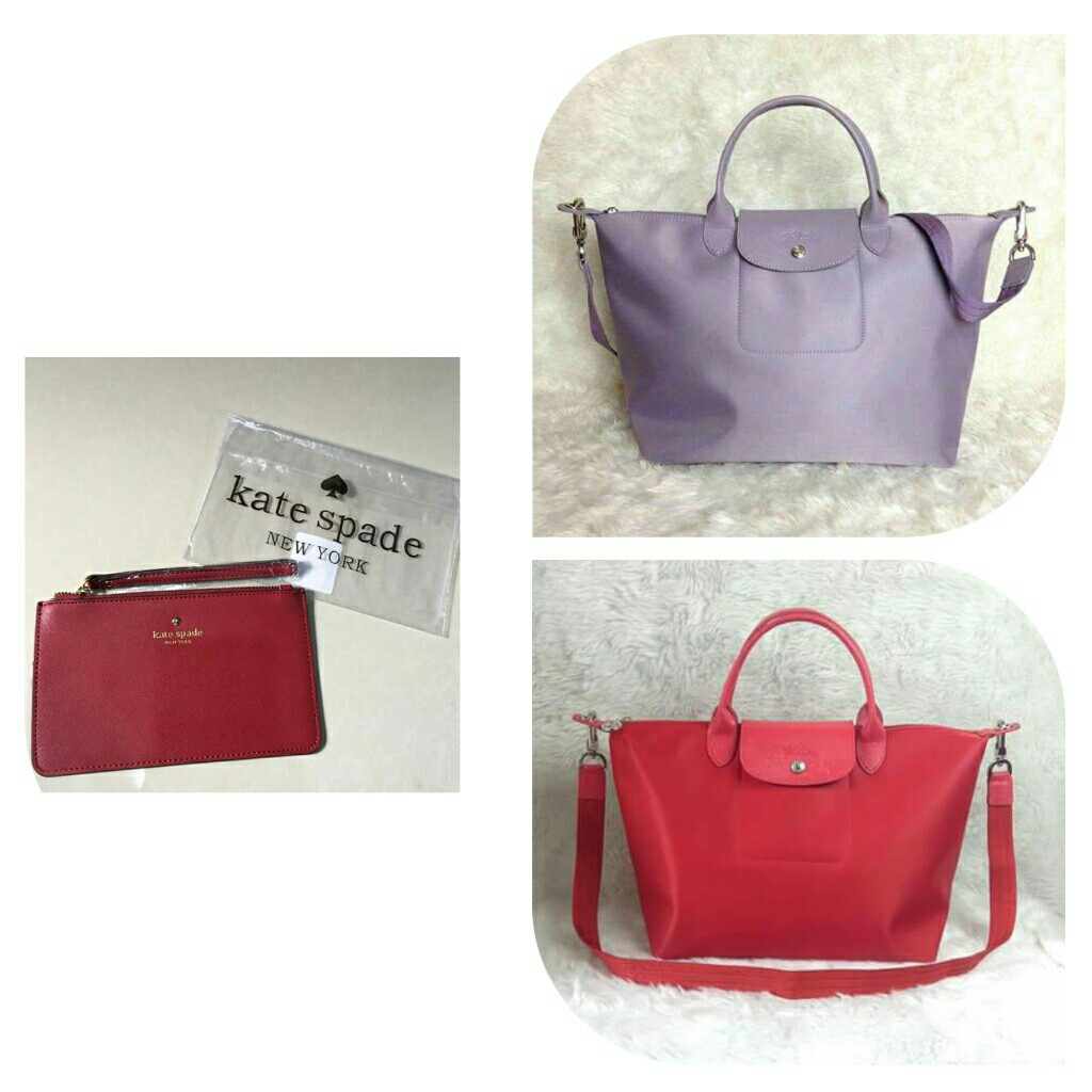 3819c097df5d 2K Bundle! 2 Authentic Longchamp Neo Small and 1 Authentic Kate ...