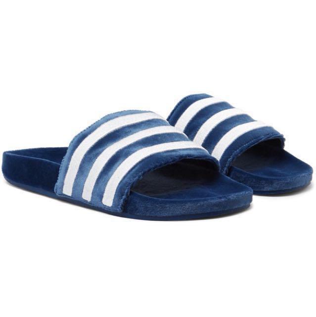 fdeb91239 Adidas Limited Edition - Adidas Velvet slides