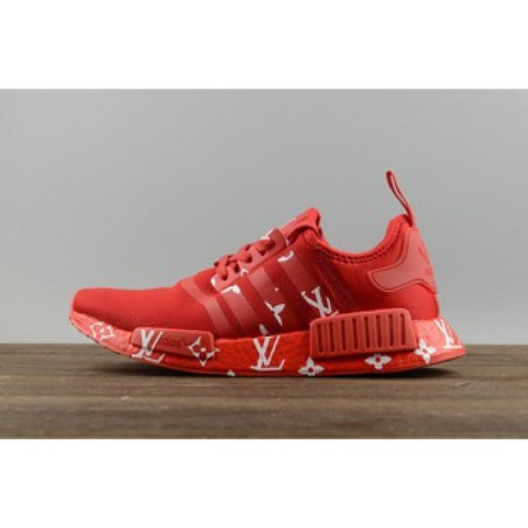 c8fb6cc6030a6 Adidas NMD R1 x Louis Vuitton Red