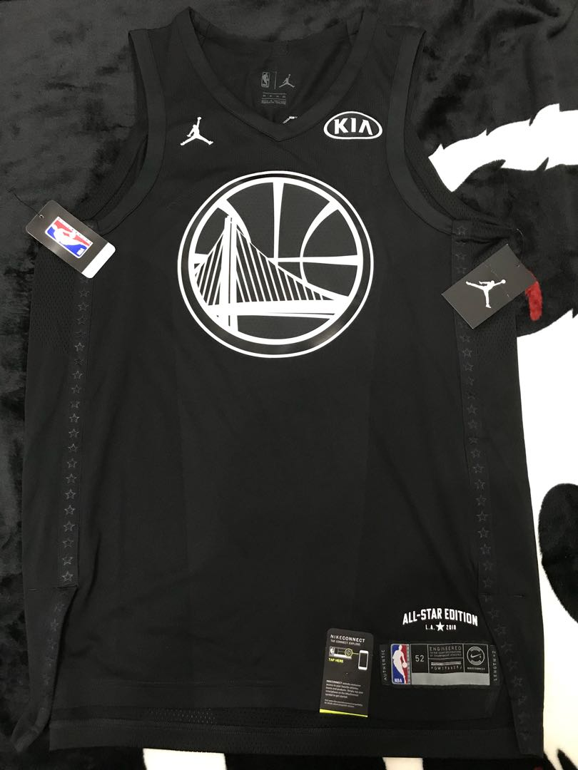 new products 1231d fa6d8 All star game curry jersey size 52 authentic 球員版