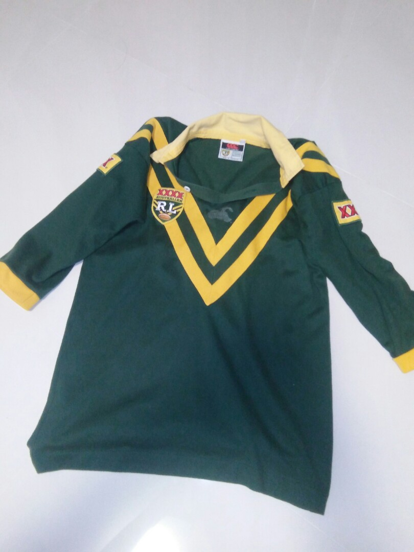 d629c260a38 Authentic Canterbury Australian League Rugby jersey, Sports, Sports ...