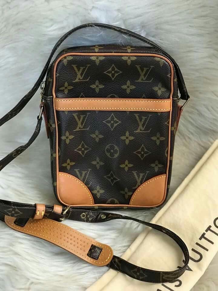 4d60a55e2363 Authentic Louis Vuitton Danube Sling Bag