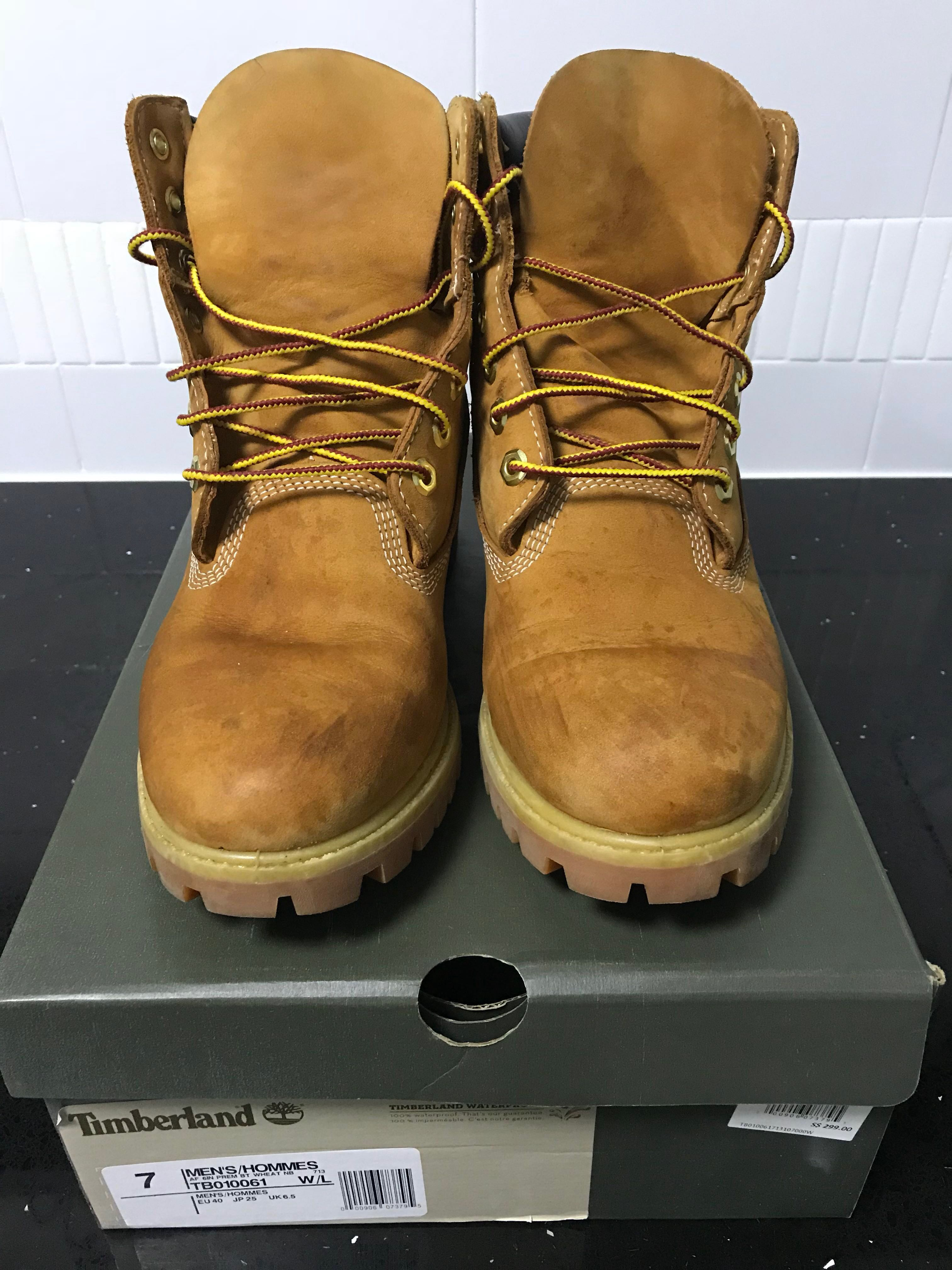 bc4374a1ac9 Authentic Timberland Men's 6in Premium Boot