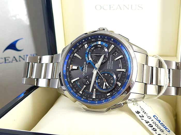 Casio Oceanus Titanium OCW-G1000B-1ADF