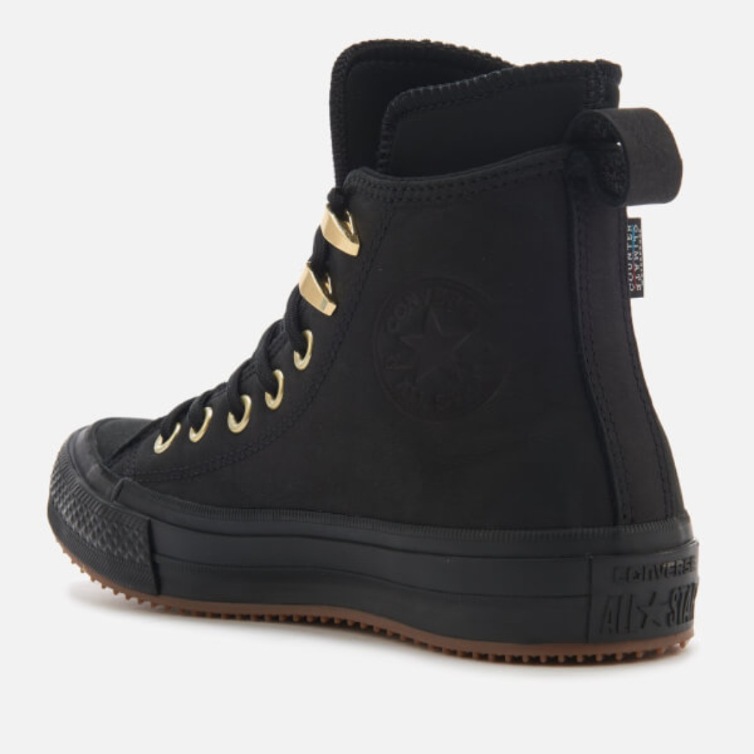 Converse Chuck Taylor All Star Waterproof Boot Nubuck BLACKGOLD ... a795bac82