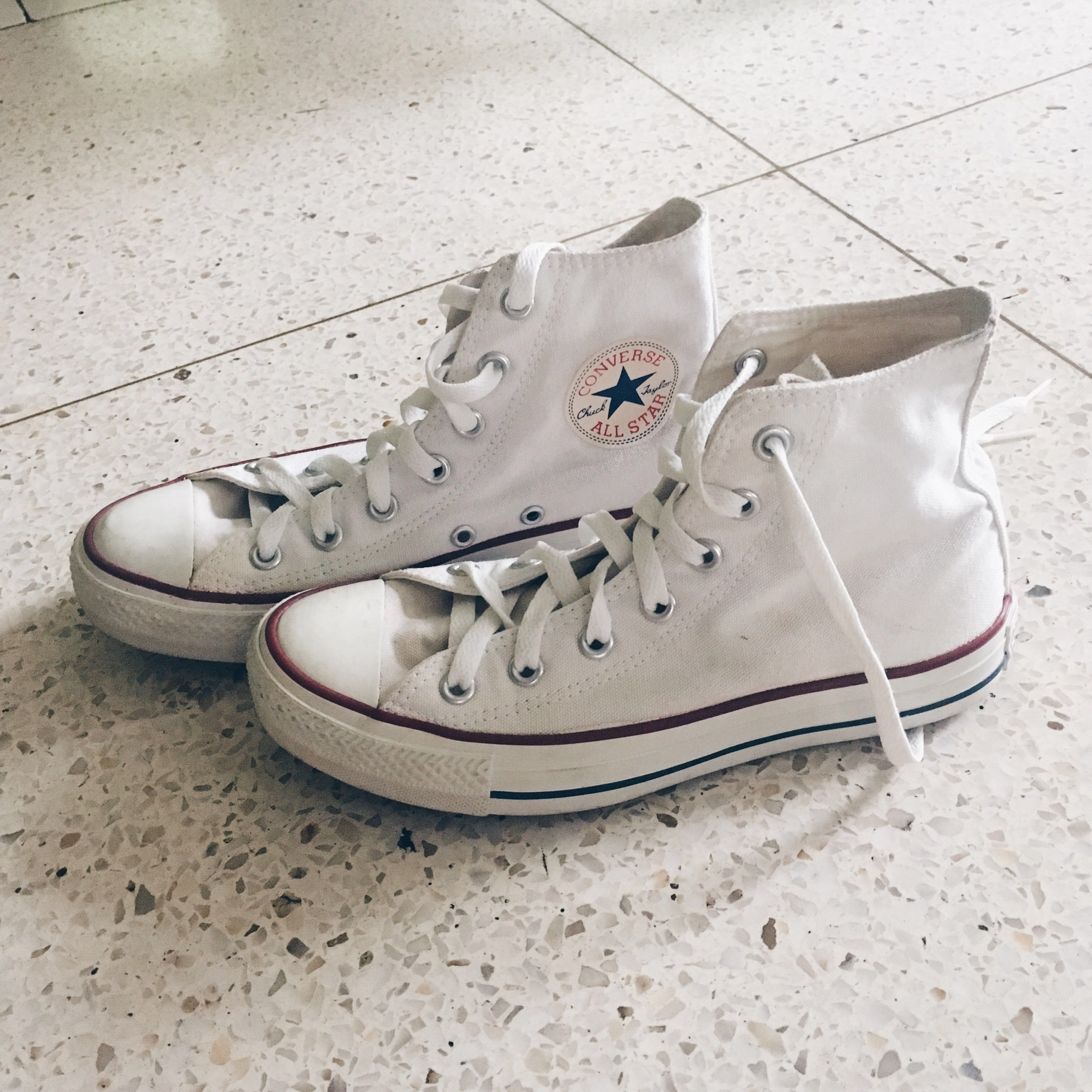 492426ae29dcb4 Converse High Cut White