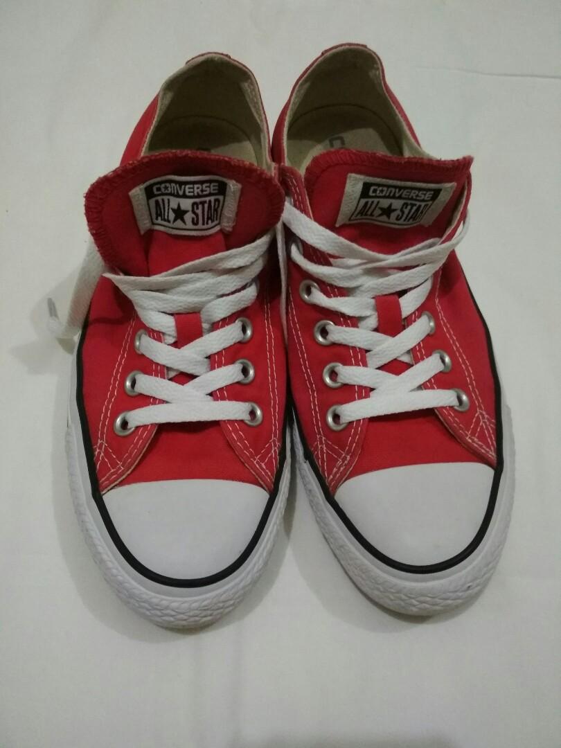 Converse Merah Red Size 38 276db3d8e1