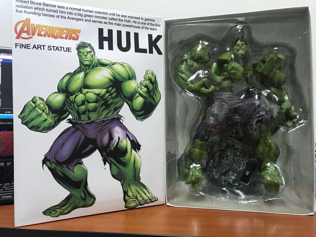 Crazy Toys Marvel Classic Avengers Series1//6 Scale Hulk Fine Art Statue Figure