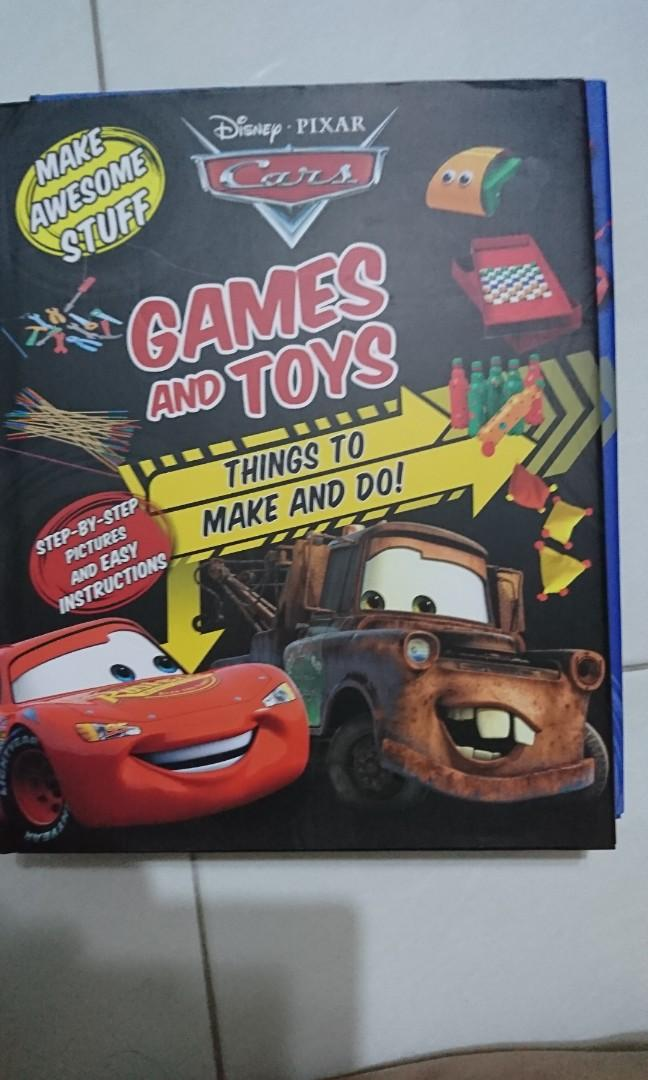 Disney cars Games and toys Things to make and do